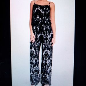 Beachlunchlounge XL Jumpsuit Black & Gray